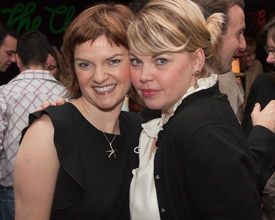 Mary Bacon and Jenn Thompson
