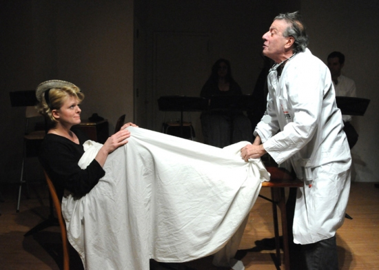 VIRGINIA ARMITAGE and LOUIS VUOLO at Accidental Repertory Theater Presents BRECHT ON BRECHT