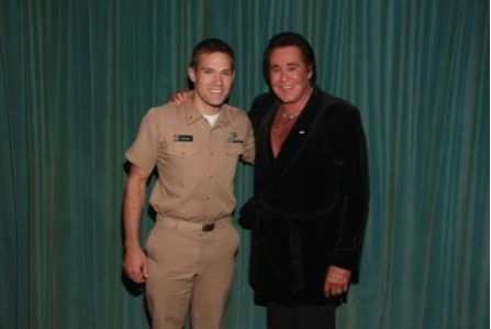 Andy Baldwin and Wayne Newton