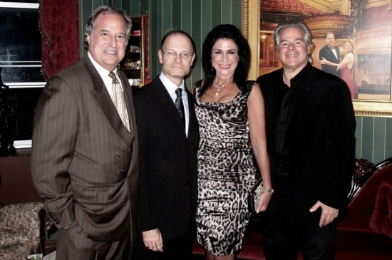 Stewart Lane, David Hyde Pierce, Donna Soloway and Dick Soloway  Photo