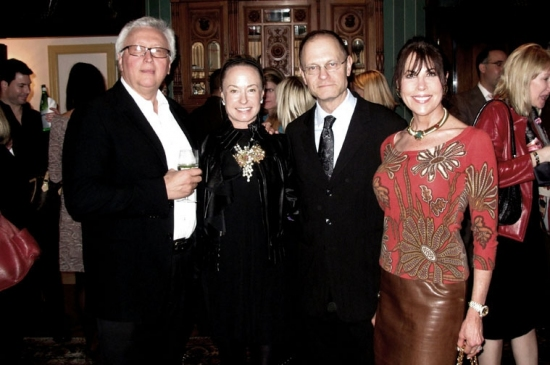 Dominic D'Alevia, Robin Cofer, David Hyde Pierce and Lauren Day Roberts