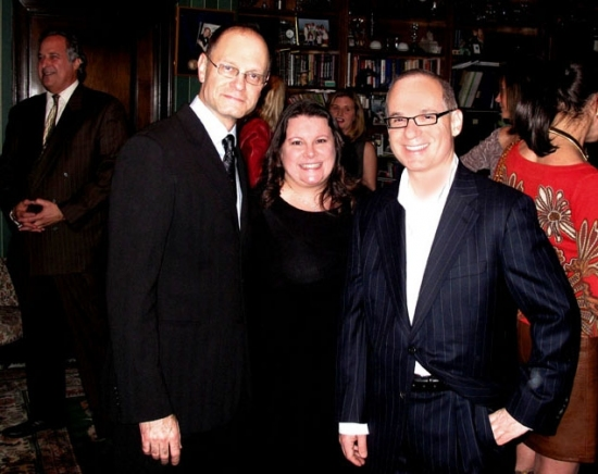 David Hyde Pierce, Carol Crespo and Lee Harris