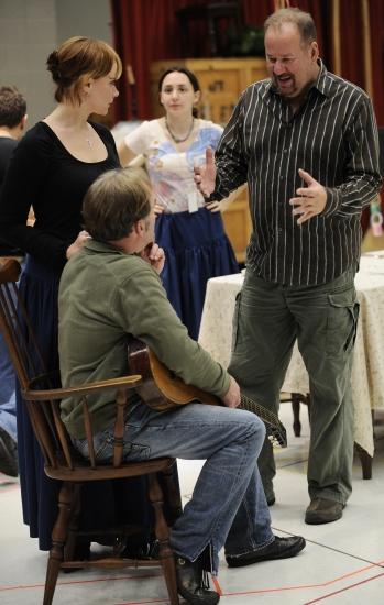 Lauren Patten, director William Brown, Ron Rains and Christine Sherrill