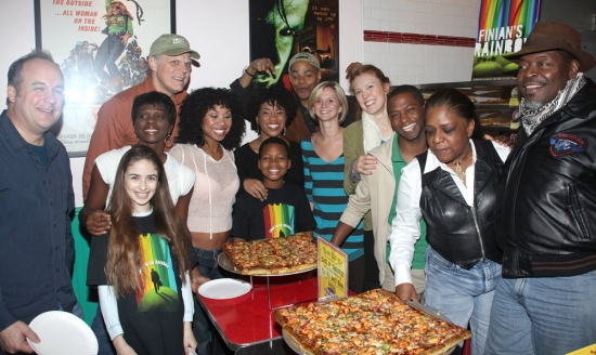 Photo Coverage: Two Boots Pizza Hosts FINIAN's RAINBOW for 'A Slice of Broadway'