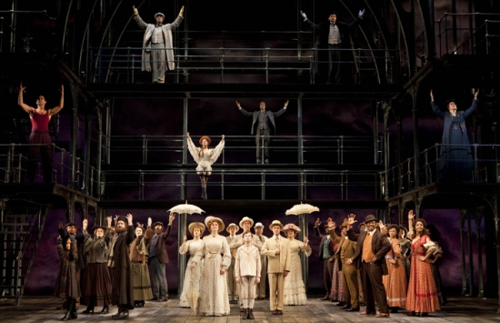 Photo Flash: RAGTIME Plays Final Show on Broadway January 10