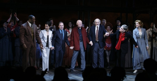 Quentin Earl Darrington, Lynn Ahrens, Stephen Flaherty, Terrence McNally, E.L. Doctorow & Marcia Milgrom Dodge, Christiane Noll with ensemble
