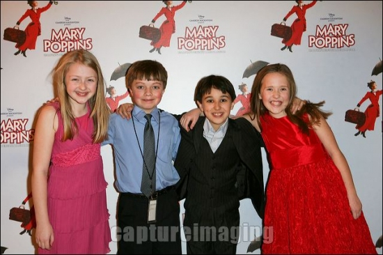 Katie Balen, Bryce Baldwin, Carter Thomas and Bailey Grey