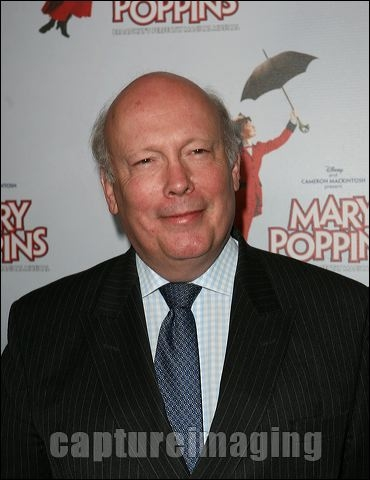 Julian Fellowes at MARY POPPINS Ahmanson Theatre Opening