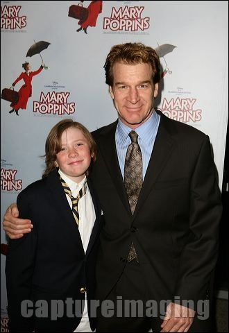 Kevin Kilner with son Joshua Neidorf