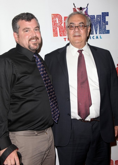 James Ready and Barney Frank at RAGTIME Returns - Opening Night Arrivals