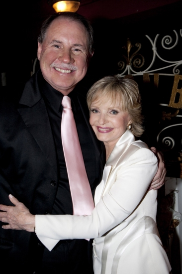 Dale Hindman and Florence Henderson