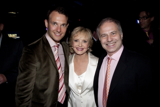 Lavi Soloway, Florence Henderson and Glen Roven