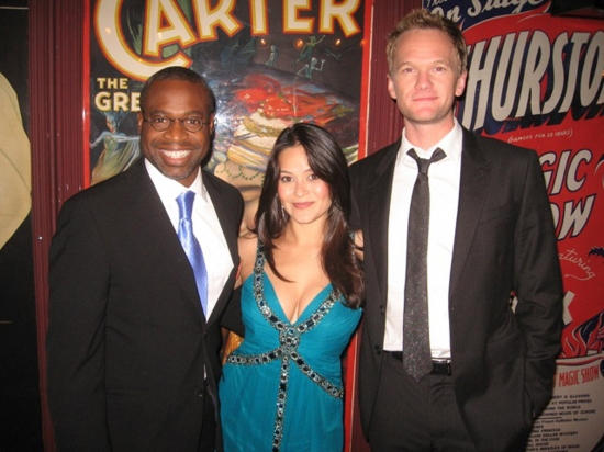 Phill Lewis, Romi Dames and Neil Patrick Harris