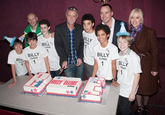 Photos: BILLY ELLIOT Celebrates Tony Winning First Year On Broadway!
