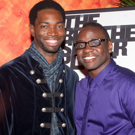 Tarell Alvin McCraney and Brian Tyree Henry