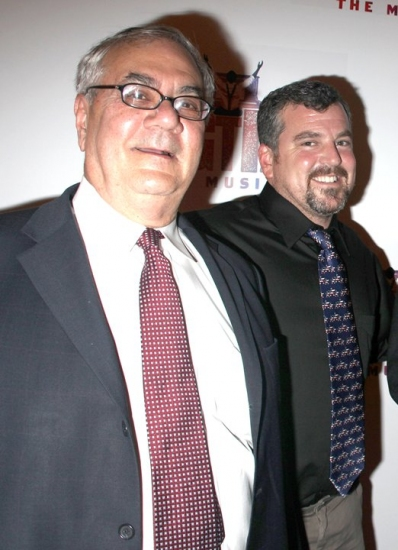 Barney Frank and James Ready at RAGTIME Returns - Opening Night Party