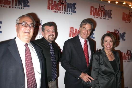 Barney Frank, James Ready, Paul Pelosi and Nancy Pelosi