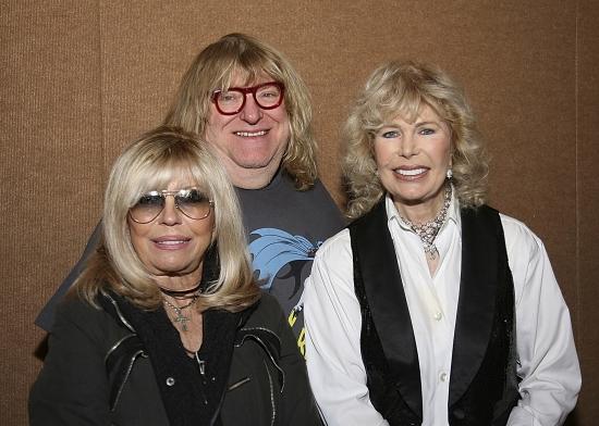Nancy Sinatra, Bruce Vilanch and Loretta Swit