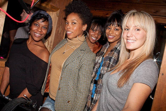 Tracee Beazer, Dionne Figgins, Candice McCall, Vivian Nixon, and Katie Webber Photo