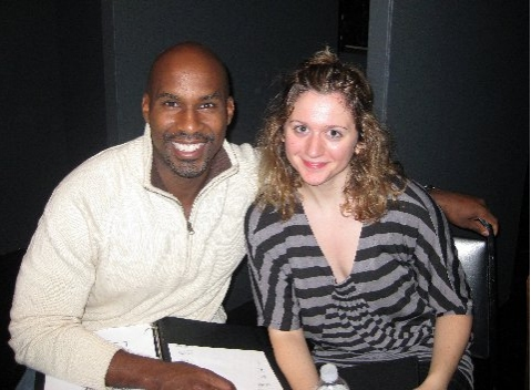 Alan H. Green and Felicia Ricci at Industry Reading of THE JERUSALEM SYNDROME, 11/16