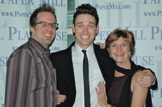 Bill Berry, Tyler Hanes and Patti Colombo
