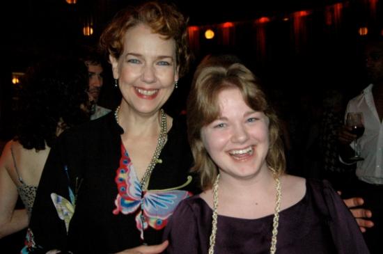 Harriet Harris and Emily De Hope