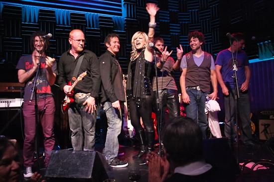 Adam Wachter, Chris Blisset, Ian Bentley, Felicia Finley, Brandon Wardell, Paul Stanc Photo