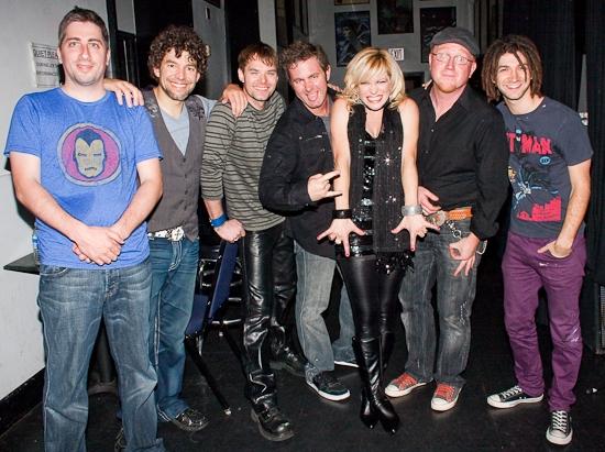 Mike LaVista, Paul Stancato, Brandon Wardell, Ian Bentley, Felicia Finley, Chris Blis Photo