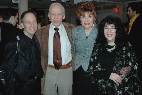 Scott Siegal, Ervin Drake, Edith Drake, Barbara Siegal