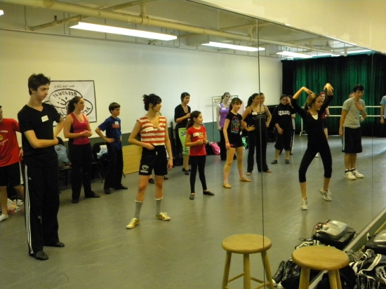 Photo Flash: BYE BYE BIRDIE'S Bill Irwin and Allie Trimm Inspire the Students of Broadway Artists Alliance
