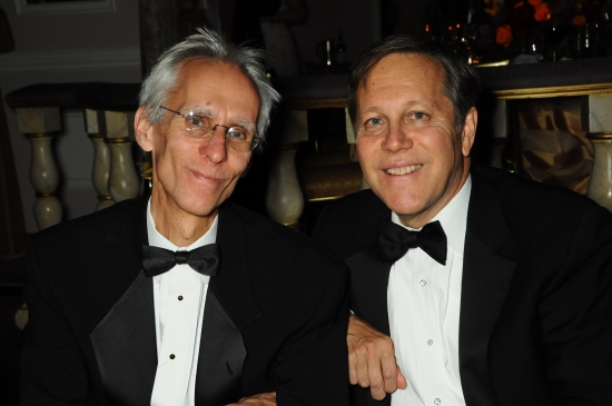 Photo Flash: Abigail Disney, David Ives, Clive Davis & More at The Acting Company's Shakespearean Masquerade, 11/16