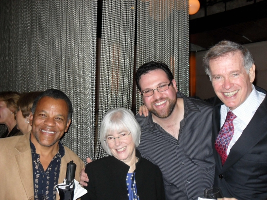 Ray Gaspard, Nancy Schaefer, Brian Loevner and Chet Kamin