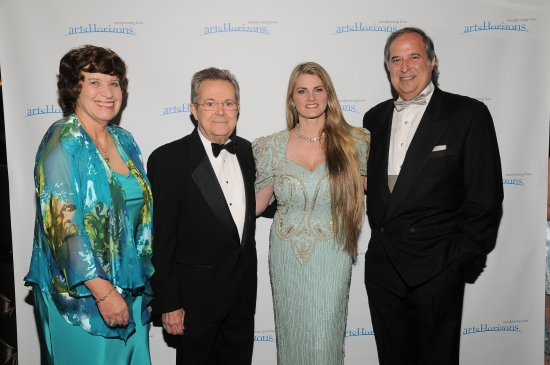 Elizabeth Halverstam (Director of Arts Horizons), John Devol, Bonnie Comley and