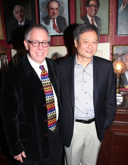 James Schamus and Ang Lee at The National Arts Club's Medal of Honor for Film Ceremony