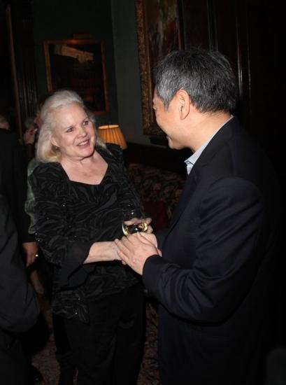 Carroll Baker and Ang Lee
