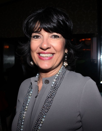 Christiane Amanpour at Off-Broadway's LOVE, LOSS And WHAT I WORE Welcomes New Cast