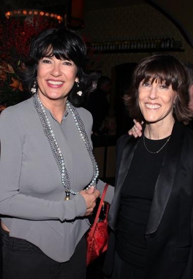 Christiane Amanpour and Nora Ephron