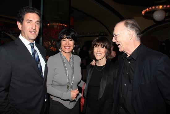 Jamie Rubin, Christiane Amanpour, Nora Ephron and Nicholas Pileggi