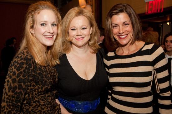 Katie Finneran, Caroline Rhea and Wendie Malick