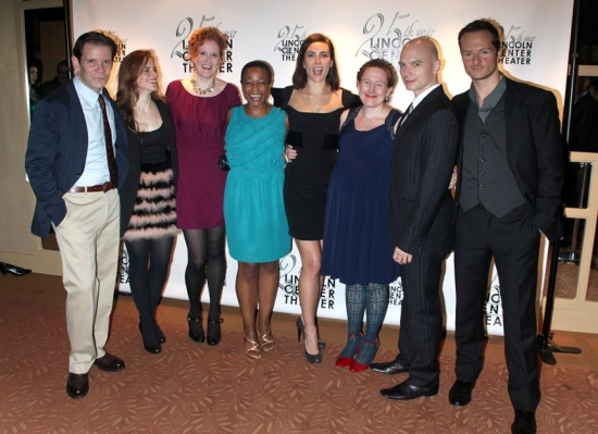 Thomas Jay Ryan, Maria Dizzia, Wendy Rich Stetson, Quincy Tyler Bernstine, Laura Benanti, Sarah Ruhl, Michael Cerveris and Chandler Williams