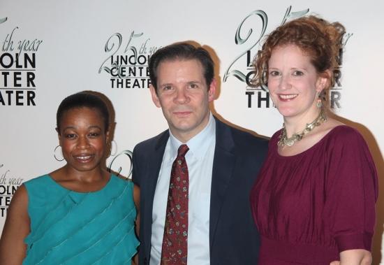 Quincy Tyler Bernstein, Thomas Jay Ryan and Wendy Rich Stetson