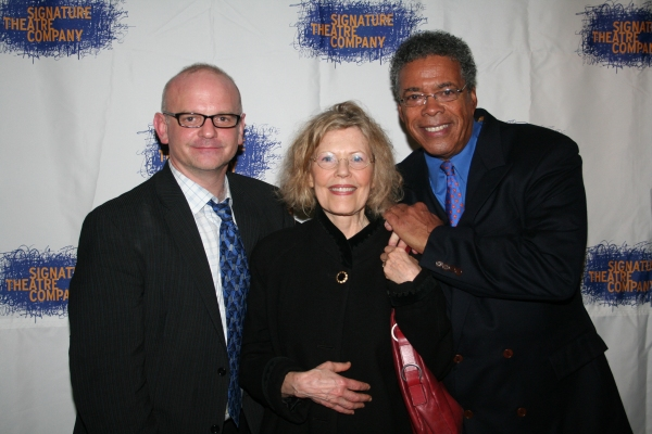 Michael Wilson, Pamela Payton-Wright and Charles Turner