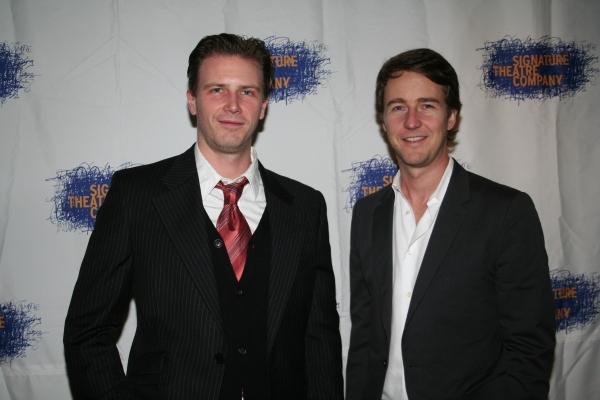 Bill Heck and Edward Norton