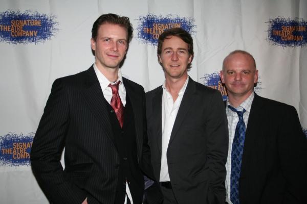 Bill Heck, Edward Norton and Michael Wilson