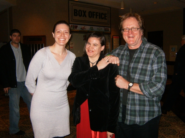 Libby Fandrei, Ann N. Davis and William Underwood at THE CHRISTMAS SCHOONER Opening Night