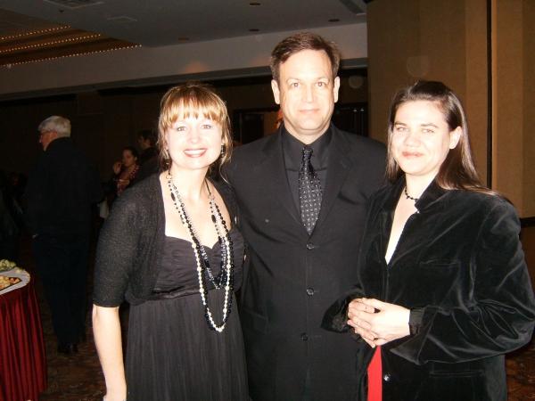 Patty Spillers, Chuck Gessert and Ann N. Davis