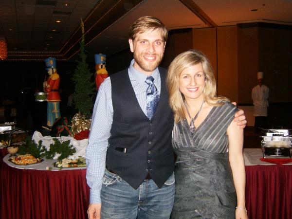 Brandon Dahlquist and Noreen Heron Zautcke