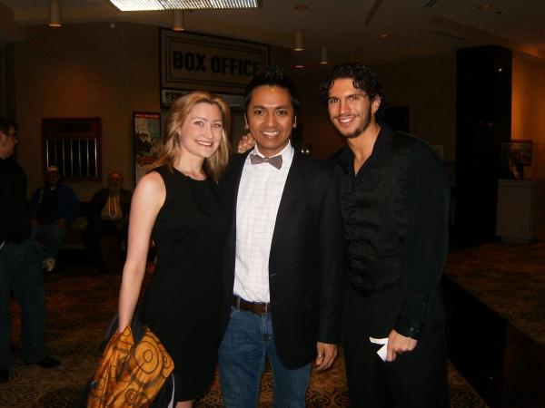 Jennifer Buhrow, Adrian Fontanilla and Michael Glazer