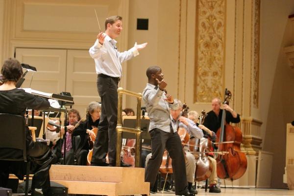 Photo Coverage: NY Pops Celebrate Johnny Mercer - In Rehearsal