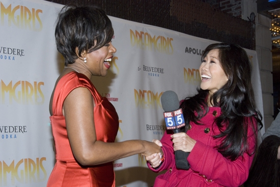 Sheryl Lee Ralph talks to the press